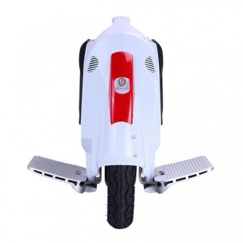 Белое моноколесо Kingsong 14C - вид спереди