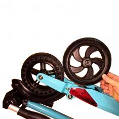 Куго S3 Pro Jilong: отличие колес