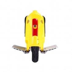 Моноколесо Kingsong 14B (174Wh) желтое, вид спереди